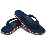 Crocs Retro Flip navy and red