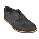 El Naturalista No 640 men's lace-up in antique black