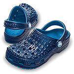 Crocskin Classic kids sea blue/navy