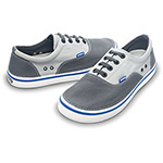 Hover Plim lace up charcoal and white sizes M7, M12 only