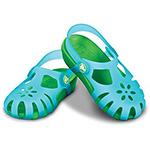 Crocs Shirley aqua and lime