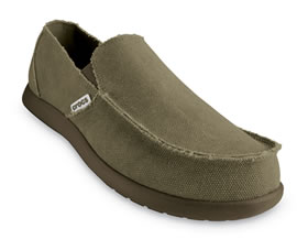 Crocs Santa Cruz chocolate