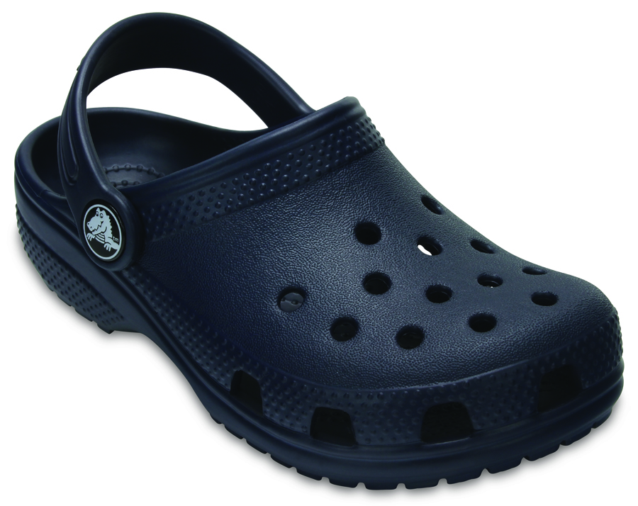 Crocs Classic navy blue clog shoes for children