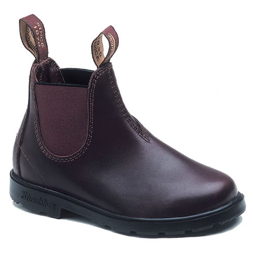 Kids' Blundstone brown leather Boots 530