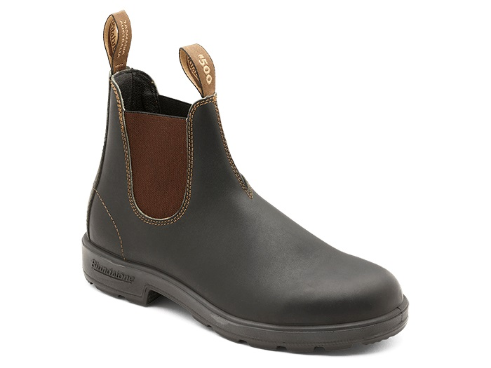 Blundstone 500 premium leather boots brown