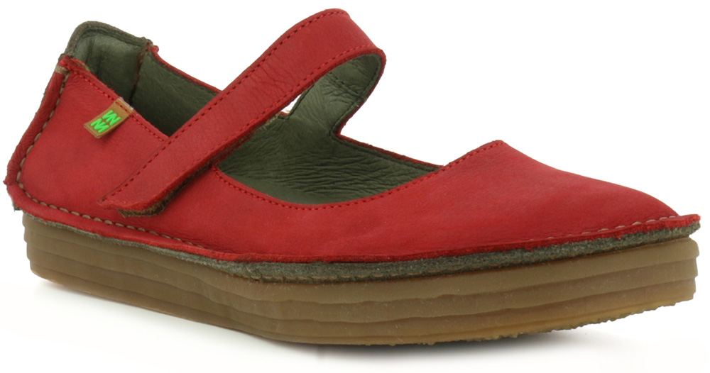 El Naturalista N5041 red leather Mary Janes Eu 38,41