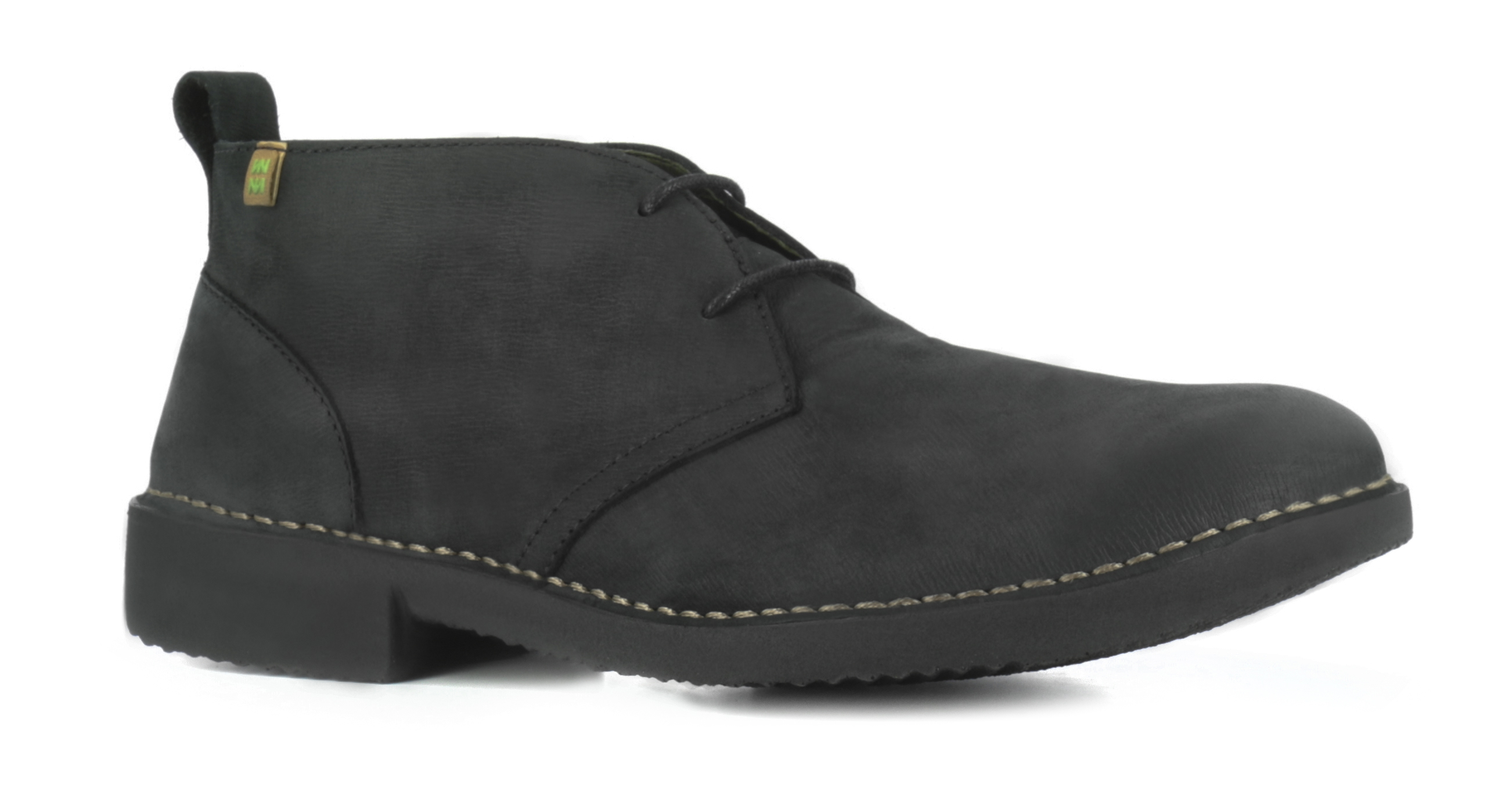 El Naturalista NG21 black lace-up leather shoes Eu 43