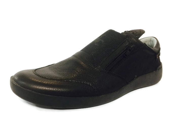 Fly London Thon leather black runners sizes Eu 43, 45