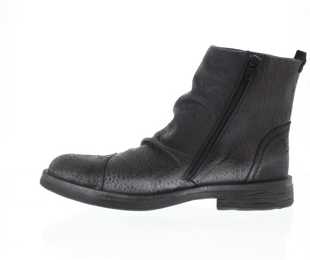 Fly London Waft black leather boots size EU 44