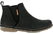 El Naturalista Angkor N959 Spanish-made ankle boots in black