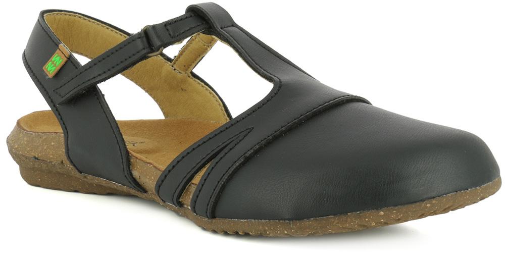 El Naturalista N5062 Vegan Black women's sandals Eu 40